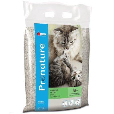 【李小貓之家】創鮮Pronature《絲蘭抗菌貓砂-尤加利香味-12kg》加拿大原裝進口/ 礦砂/ 凝結砂 新北市
