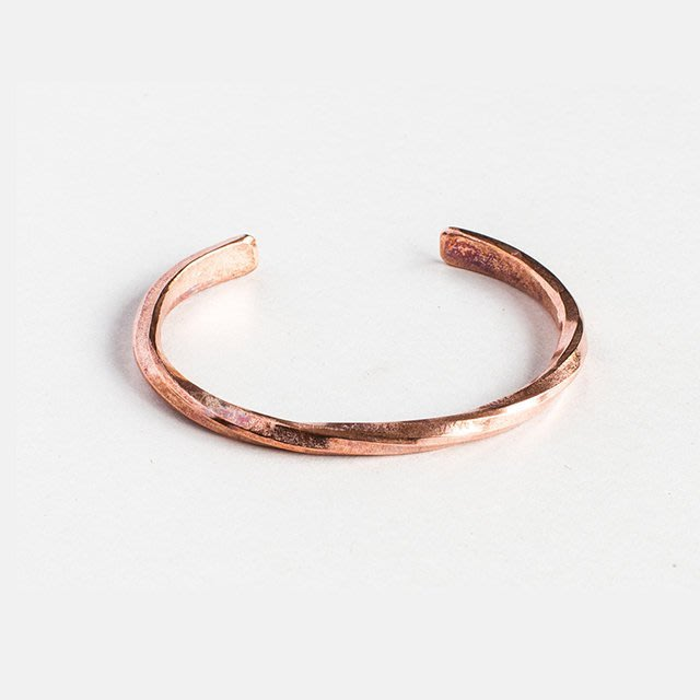 美國匹茲堡職人品牌Studebaker Metal純手工鍛造紅銅手環 - LTS現貨