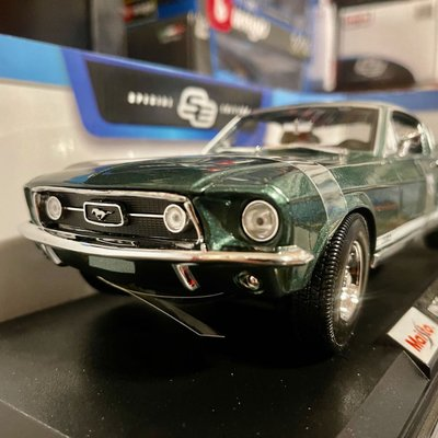 ✶78shop✶ 現貨 1/18 Maisto Bburago Ford Mustang GTA Fastback 野馬