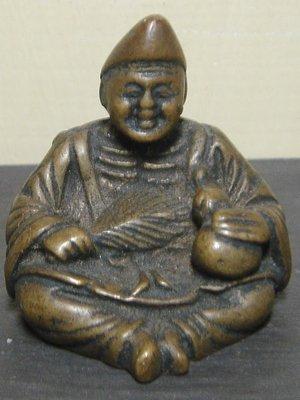 銅,小尊濟公禪師。