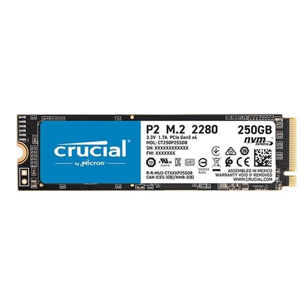 【易霖-固態硬碟】美光 Micron Crucial P2 250GB ( PCIe M.2 ) SSD