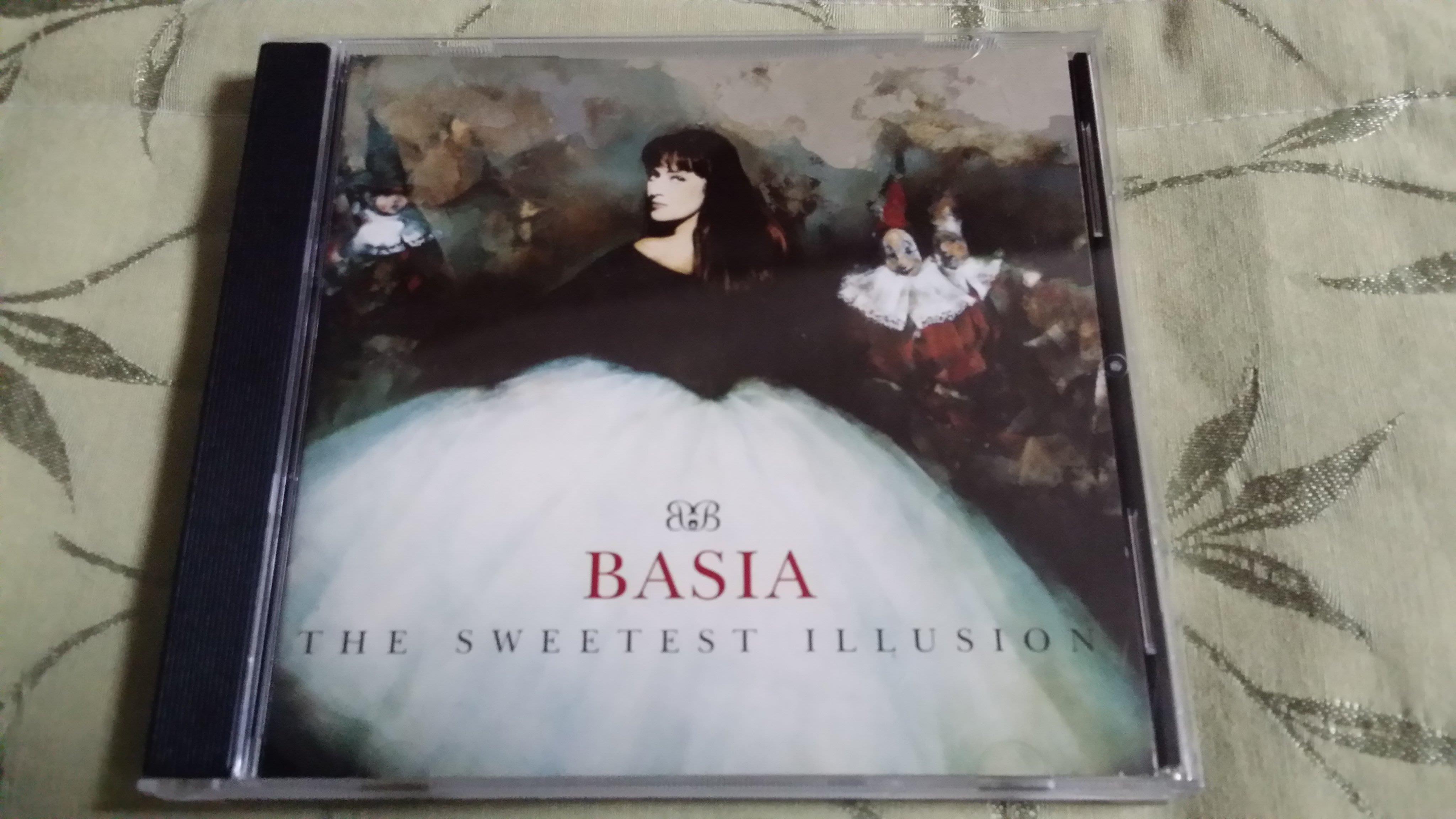R西洋團(二手CD)BASIA~THE SWEETEST ILLUSION~日版~無ifpi
