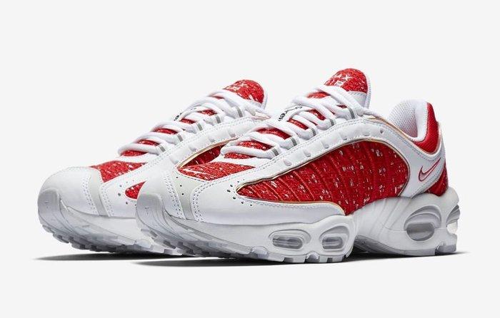 沃皮斯§Supreme x Nike Air Max Tailwind 4 白紅 AT3854-100