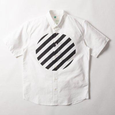 ~YOYOGI PLUS~ADLIB ~ Stripe Circle Shirt  ST4