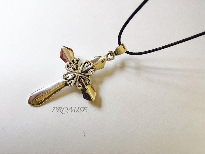 造型設計個性十字架925純銀 項墜 ·{PROMISE}