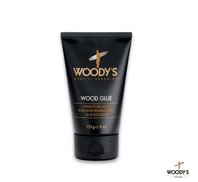 GOODFORIT / 美國Woody's Wood Glue Extreme Hair Gel濃縮黏性髮膠/4OZ