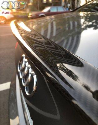 ~╮~奧迪S4 A4 A3 S3 sedan車型 尾翼 卡夢尾翼 碳纖維尾翼 空氣動力尾翼~╭~ 奧迪車款