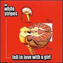 [狗肉貓}_The White Stripes_Fell in Love with a Girl_7 inch EP