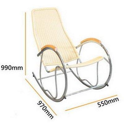 U-Color 藤立方 Rattan Cube藤編休閒搖椅-有白橡色,蜂蜜色