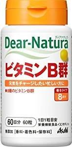 日本朝日食品 Asahi Dear Natura 維他命B/維他命C/葉酸/鐵+葉酸 60天份