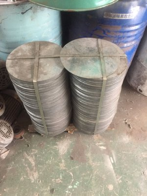3mm鍍鋅圓板直徑約314mm-工廠廢料 鍍鋅板 鋼板 鐵板 圓板 雷射加工 雷射切割 雷射代工
