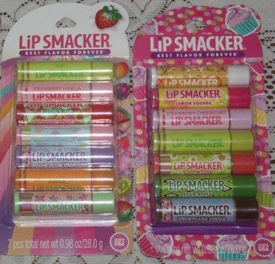 美國 Lip Smacker  [水果糖/甜點口味護唇膏] Fruit / Dessert 兩款可選 全新