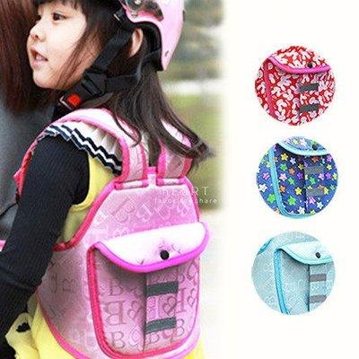 【可愛村】 印花兒童機車多功能安全背心固定帶 安全帶 保護背帶