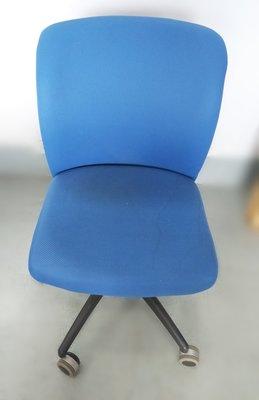 【宏品二手家具館】台中全新中古家具拍賣 C8147*藍色OA辦公椅*客廳桌椅 餐椅 電腦椅 新竹台北南投隔間屏風鐵櫃書桌
