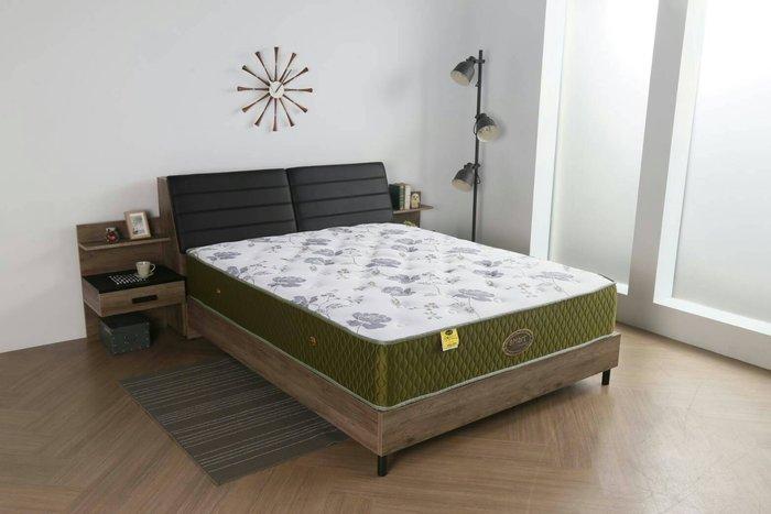 【DH】編號R15名稱舒柔布厚度30cm☆雙人加大6X7尺硬式獨立筒床墊  送保潔墊備有5尺/6尺/6X7尺台灣製可訂做