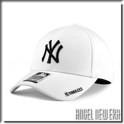 【PD帽饰】【ANGEL NEW ERA 】 MLB Old Fashioned Cap NY 紐約 洋基 白黑 老帽 獨家/限量
