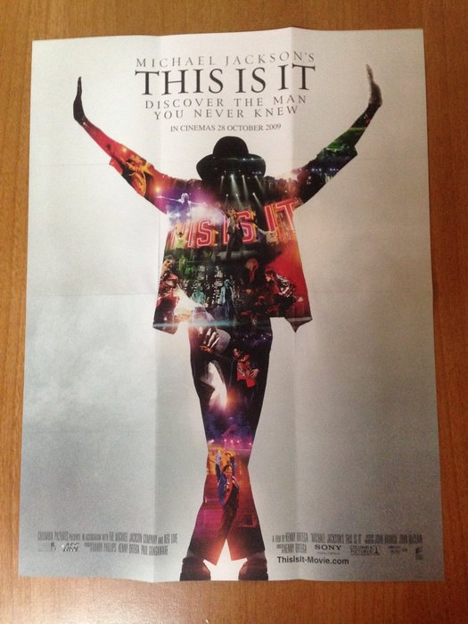 (絶版) Michael jackson 麥可傑克森 歷年專輯海報