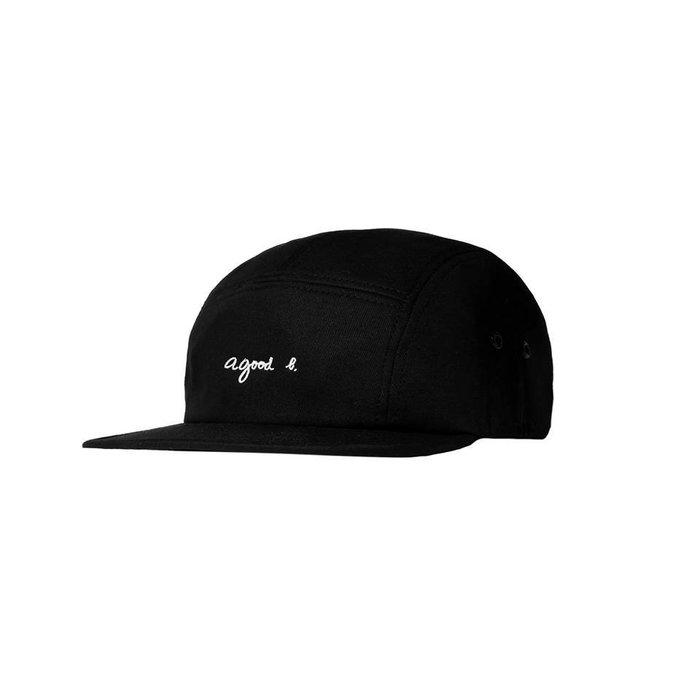 { POISON } LESS a good L. CAMP CAP 小刺繡字樣 經典款五片帽 純色調 agnes b