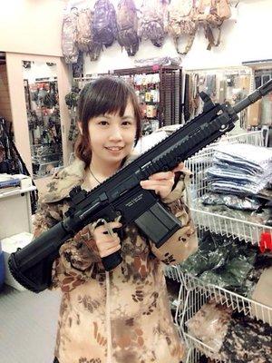 "JHS((金和勝 生存遊戲專賣))VFC HK417 12"" 瓦斯槍 6117"