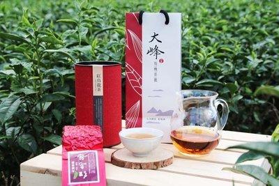 【1入禮盒】大峰有機茶園--台東紅烏龍茶--650元/150g*1入【價格含提袋禮罐】