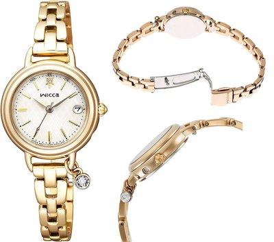 日本正版 CITIZEN 星辰 wicca KL0-511-91 電波錶 手錶 女錶 太陽能充電 日本代購