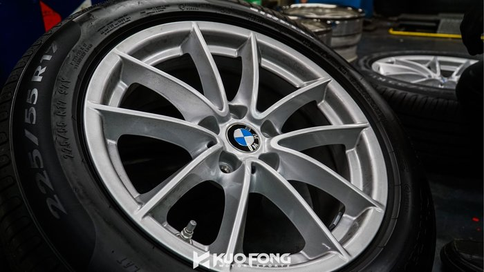 國豐動力 BMW G30 原廠17吋 圈新車拆下中古一套 價格單價 未含輪胎 現貨供應 歡迎洽詢 未含蓋子