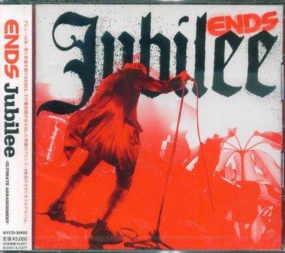 K - ENDS - Jubilee - Japan CD - NEW J-POP J-ROCK