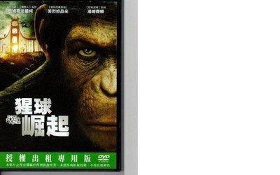 【 LEYA 影音專賣坊~*】猩球崛起 DVD 木新8738(二手片)滿千元免運費! 台北市