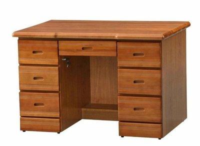 【宏品二手家具館】 全新中古家具賣場 EA1946CI*全新樟木色書桌 零碼實木辦公桌 寫字桌*電腦桌 工作桌 主管桌