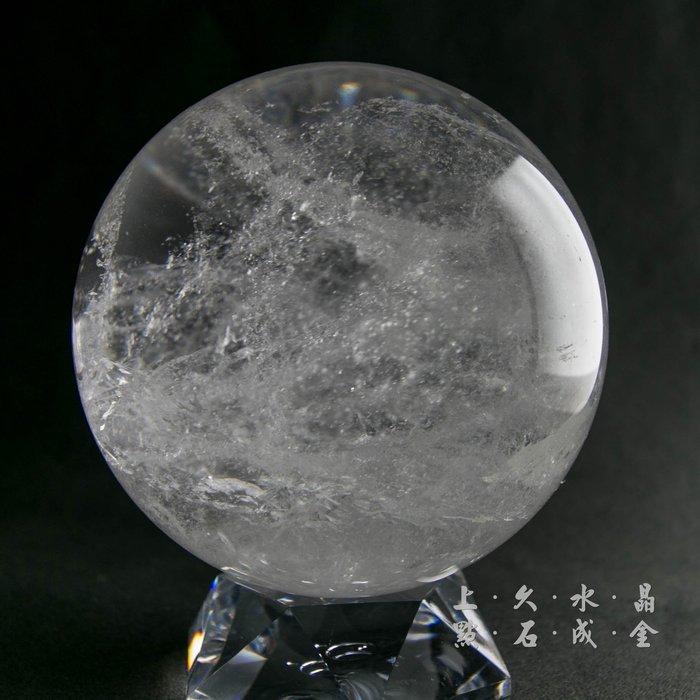 『上久水晶』【頂級天然白水晶球】【1785.5g】【10.8公分】_台中白水晶球零售/批發