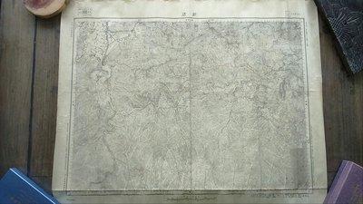 台灣老地圖(日據時代)新店