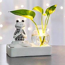 〖洋碼頭〗北歐創意瑜伽青蛙裝飾品花瓶擺件客廳電視櫃插花飾品家居小擺設 fjs959