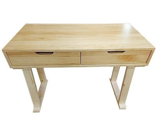【森林原木手工家具】原木書桌