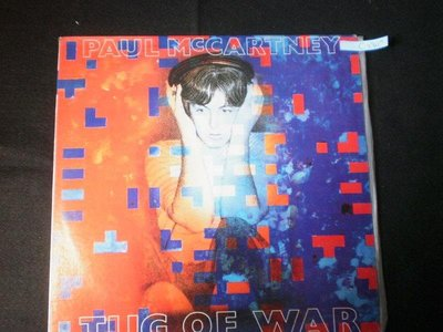 *視聽教室【PAUL  MCCARTNEY  TUG  OF  WAR】C-040