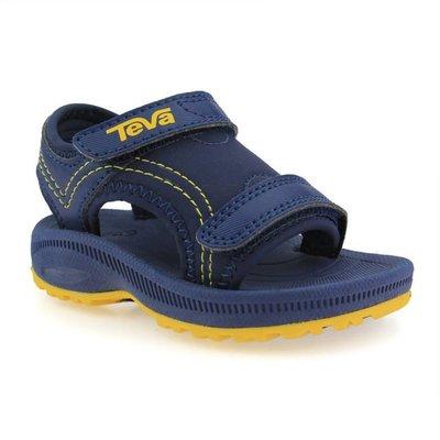 ☆Magicstar☆ TEVA 小童 涼鞋 耐磨 除臭 海軍藍 輕量 透氣110407TNYLL