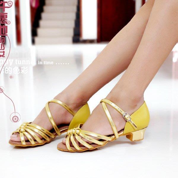 5Cgo【鴿樓】會員有優惠 41326616030 香蜜姿女兒童 女童平跟 舞蹈鞋 少兒軟底小孩跳舞鞋 拉丁舞鞋