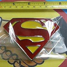 觀塘實店 ~ HK$68/1個 ~ SUPERMAN超人LOGO高質金屬皮帶扣, 泰國直接入貨, 真正可用在皮帶上, 裝飾品, 收藏品, 紀念品