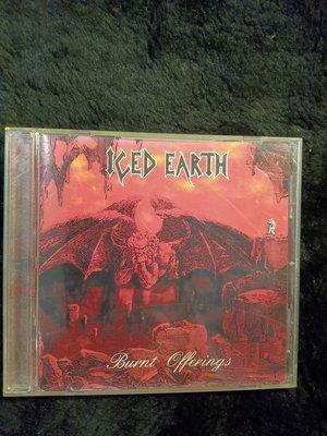 冰凍大地樂團 Iced Earth - Burnt Offerings - 1995年版 碟片如新 - 251元起標