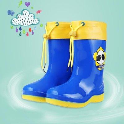 兒童雨鞋男童加絨防滑保暖四季毛口寶寶卡通 LQ1280