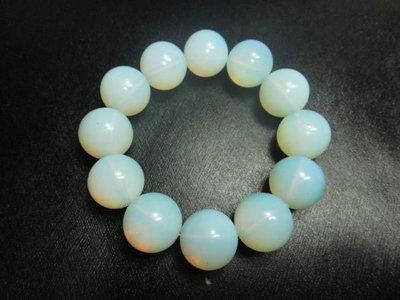 【競標網】天然高檔漂亮蛋白石18mm手珠(天天超低價起標、價高得標、限量一件、標到賺到)