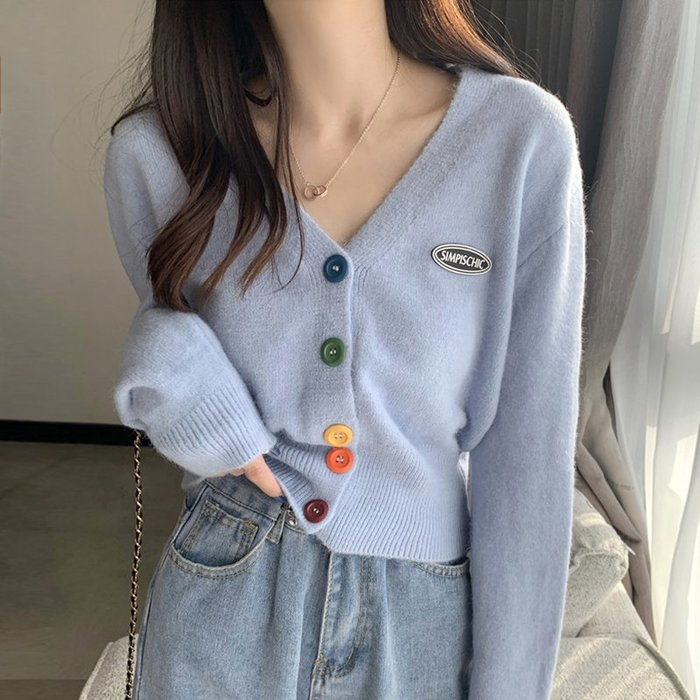 ❤Princess x Shop❤針織衫秋季冬女裝開衫外套復古寬鬆外穿日系毛衣TS30-29-1