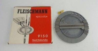 傑仲 博蘭 FLEISCHMANN 鐵軌零件 Hand Turntable Length 222mm 9150 N