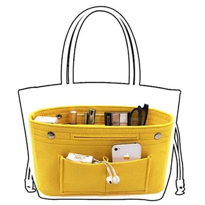 羊毛氈包中包/袋中袋 LONGCHAMP LV Gucci 大包包適用mama bao媽媽寶
