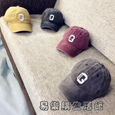 春秋夏季兒童帽子男潮鴨舌棒球帽