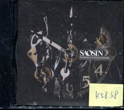 *真音樂* SAOSIN / IN SEARCH OF 二手 K5838(封面底破)  (清倉.下標賣1)