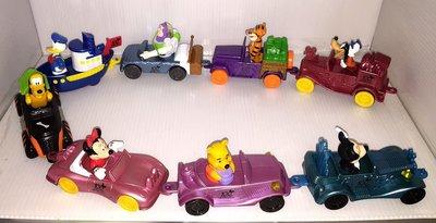 【卡漫精品館】麥當勞玩具 2002年【迪士尼100週年米奇美妮唐納布魯托維尼跳跳虎巴斯光年 】全套八款組 已絕版