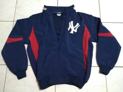 創信代理MLB大聯盟洋基隊球員版THERMA BASE素材棒球外套特價3680元