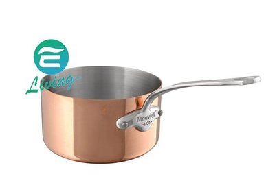 ~易油網~Mauviel 銅鍋 不鏽鋼把手醬汁湯鍋 12cm #611012 WMF STAUB~缺貨~