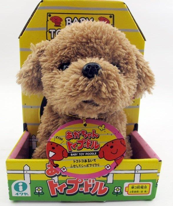 【阿LIN】31147A IWAYA 甜甜屋 紅貴賓 狗 電動 寵物 仿真 擬真 正版 ST安全玩具