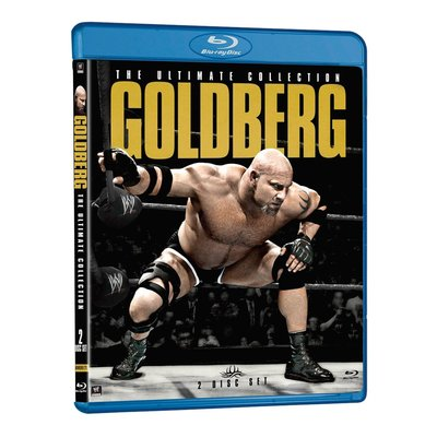 [美國瘋潮]正版WWE Goldberg Ultimate Collection Blu-Ray 戰神高柏精選藍光DVD
